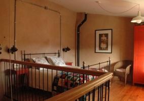 Dúplex dormitorio en altillo