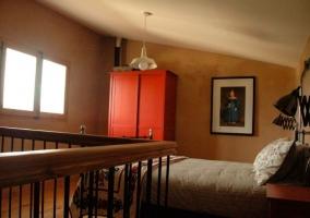 Dúplex dormitorio de matrimonio en la planta superior