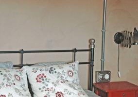 Dúplex dormitorio de matrimonio y sus detalles