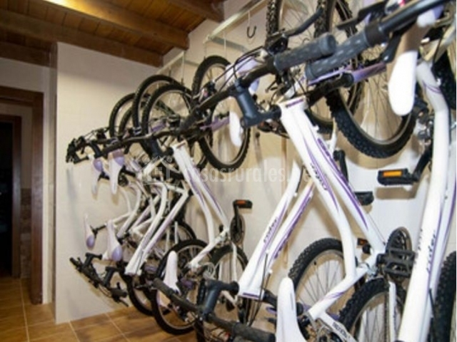 Sala de las bicicletas