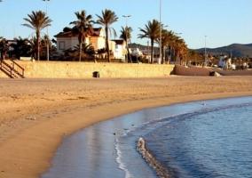Zona de playas en Sitges