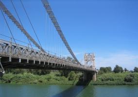 Puente Colgante de Amposta