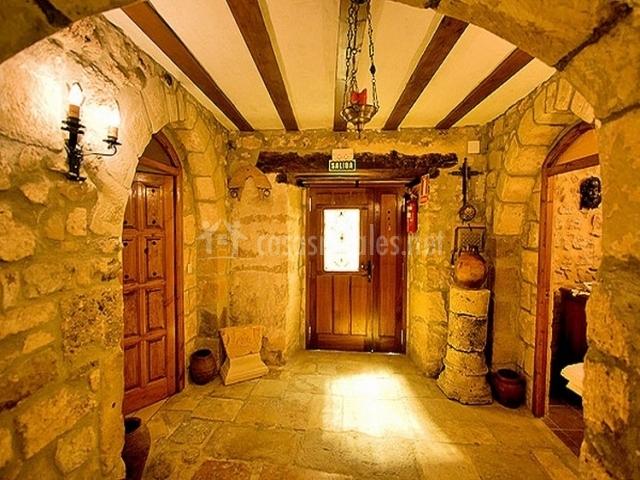 El convento de vadillo en frias burgos - Casa de madera y piedra ...