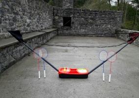 Red de badminton