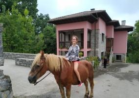 Paseando en nuestro caballo