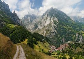 zona de montaña