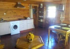 Sala de estar con zona de descanso