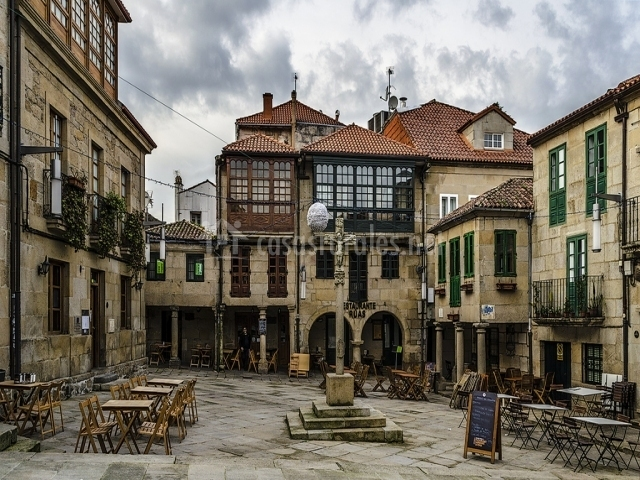 Casa bravo en pontevedra capital pontevedra - Casas de madera pontevedra ...