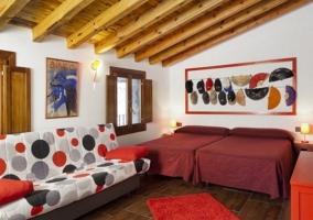 Dormitorio La Roja amplio