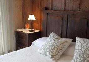 Dormitorio de matrimonio elegante