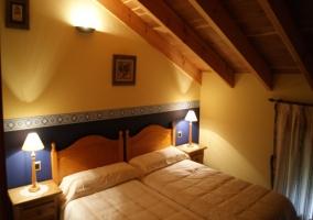 Habitación doble con camas juntas