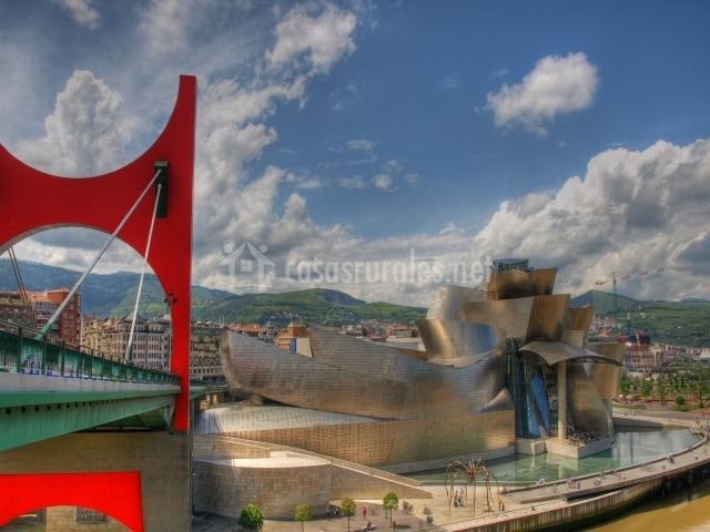 Vista de la ciudad de Bilbao
