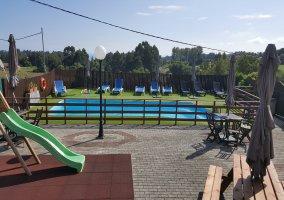 Zonas comunes, parque y pisci