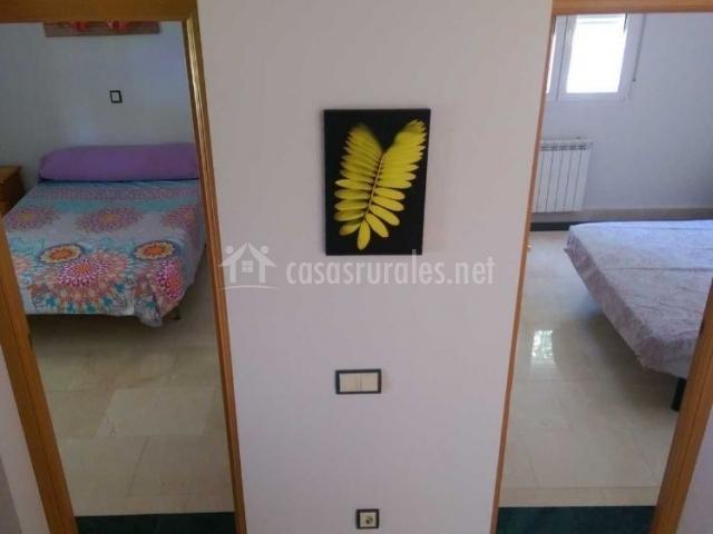 Dormitorios vistos desde la escalera