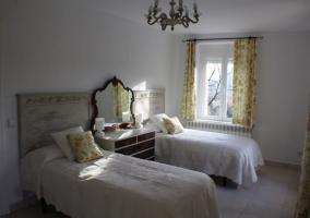 Dormitorio doble de la primera planta