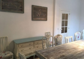 Muebles del comedor