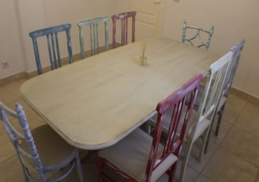 Mesa de la cocina
