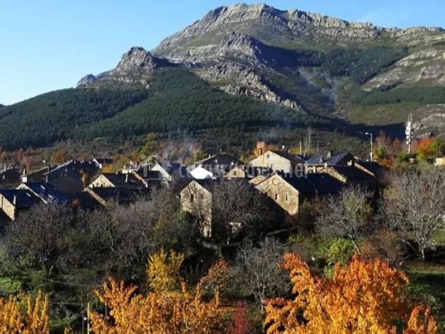 Zona del casco urbano de Valverde