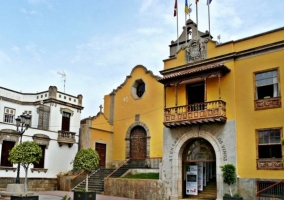 Zona del Ayuntamiento de Icod de los Vinos