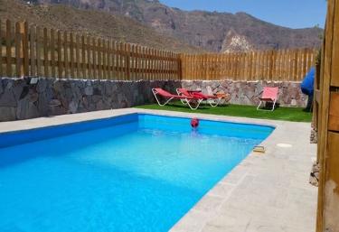 Casas rurales con piscina en san bartolome de tirajana for Casas rurales en gran canaria con piscina privada