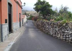 Vistas de la calle en la que nos encontramos