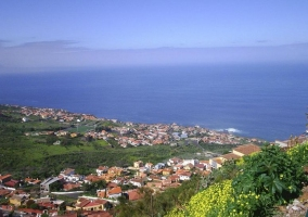 Zona de El Sauzal y las playas