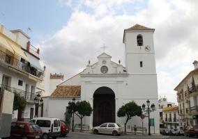 Zona de la iglesia de Monda