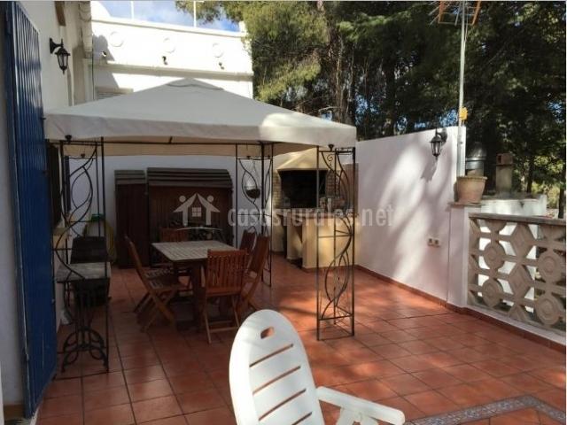 Casa el prat en lucena del cid castell n - Hamacas para terraza ...