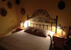 Dormitorio con detalles