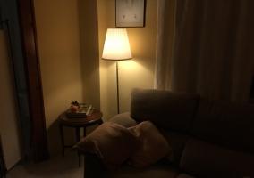 Salón con luces