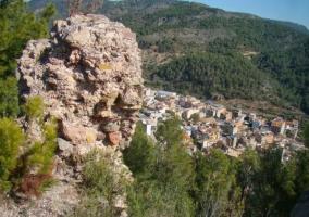 Vistas de la zona del castillo