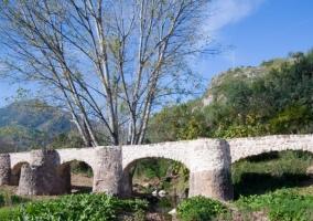 Zona del puente de Eslida