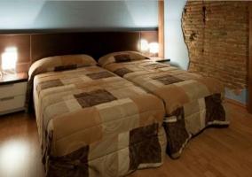 Dormitorio doble amplio