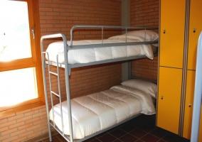 Habitación cuádruple con litera