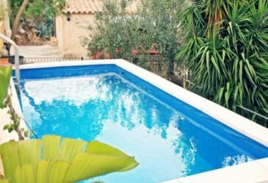 Casas rurales con piscina en benifallet for Piscina amposta
