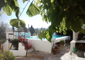 La piscina, antigua alberca.