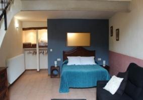 Salón-dormitorio del apartamento