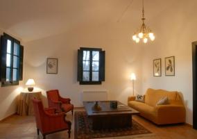 Dormitorio del apartamento Balcón