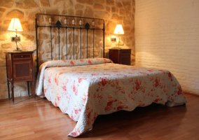 Dormitorio de matrimonio imponente