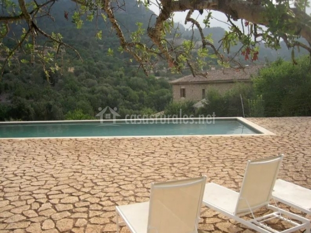 Finca filicumis s 39 era en lloseta mallorca for Hamacas de piscina
