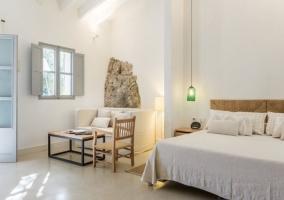 Suite Deluxe con estructura de madera