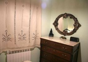 Detalle del mueble del dormitorio