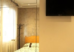 Dormitorio 3 con un par de camas