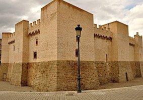 Zona del castillo de Marcilla