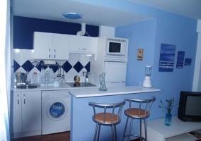 Apartamento Azul La Buhardilla