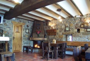 Casas rurales con chimenea en caunedo somiedo for Casa rural con chimenea asturias