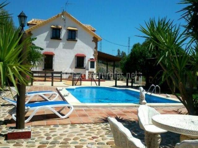 Casa rural loma el letrao en almogia m laga - Alojamiento rural con piscina ...