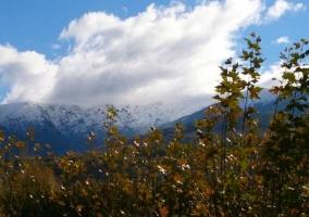Zona de vistas de la Sierra de Gredos