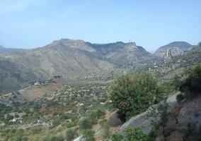 Zona de montaña en el entorno