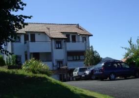 casa rural y parking